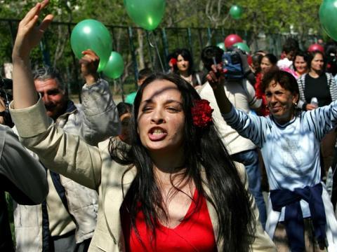 Роми активисти!