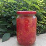 Консервиране на домати за салата